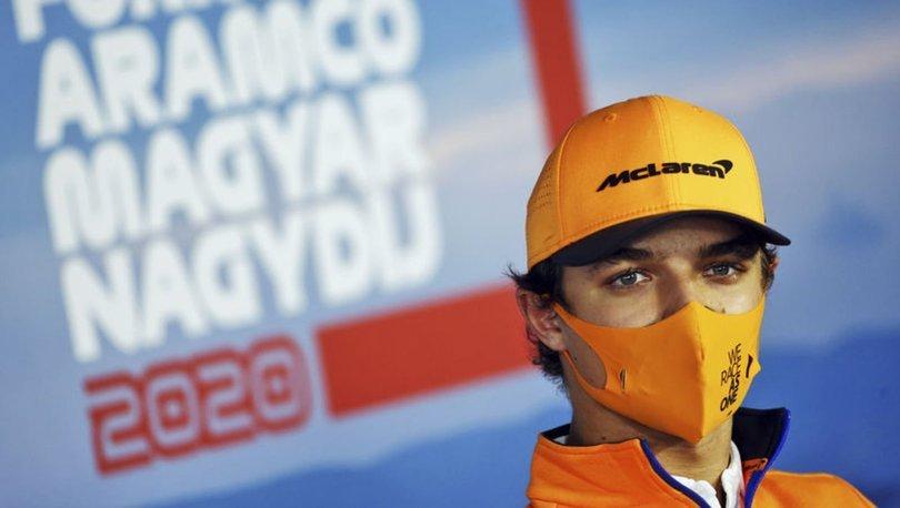 Formula 1 pilotu Lando Norris koronavirüse yakalandı