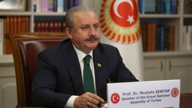 TBMM Başkanı Mustafa Şentop bir dizi kabul gerçekleştirdi