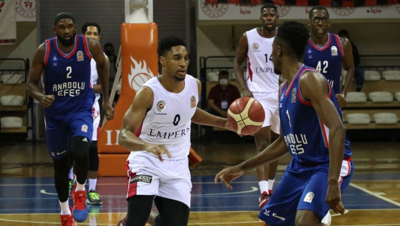 Empera Halı Gaziantep Basketbol: 60 - Anadolu Efes: 68 MAÇ SONUCU
