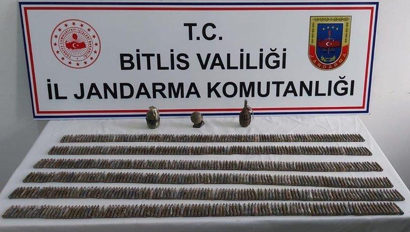 Bitlis'te iki sığınaktan cephanelik çıktı! - Haberler