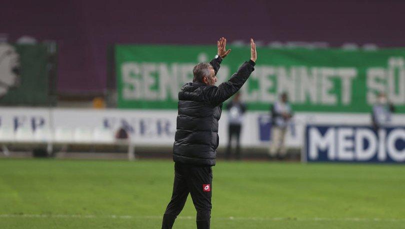 Konyaspor Teknik Direktörü İsmail Kartal:
