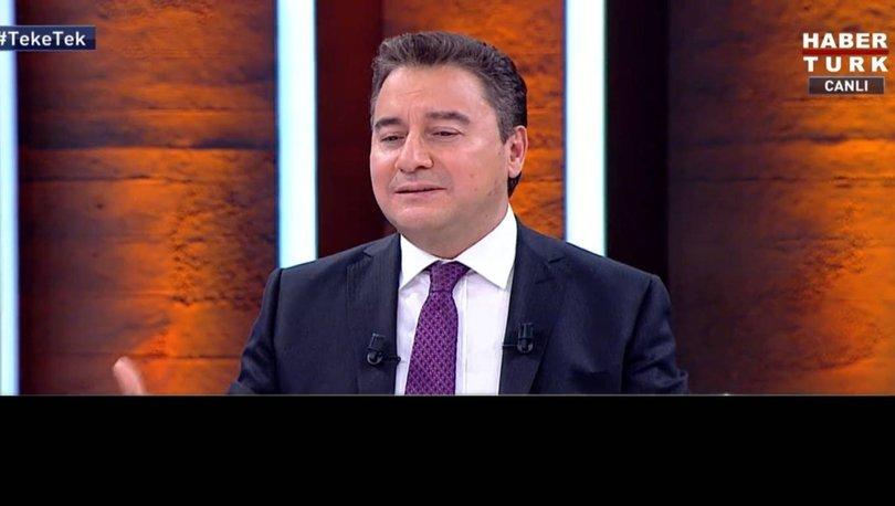 Deva Partisi Genel Başkanı Ali Babacan Habertürk'te Fatih Altaylı'nın sorularını yanıtladı