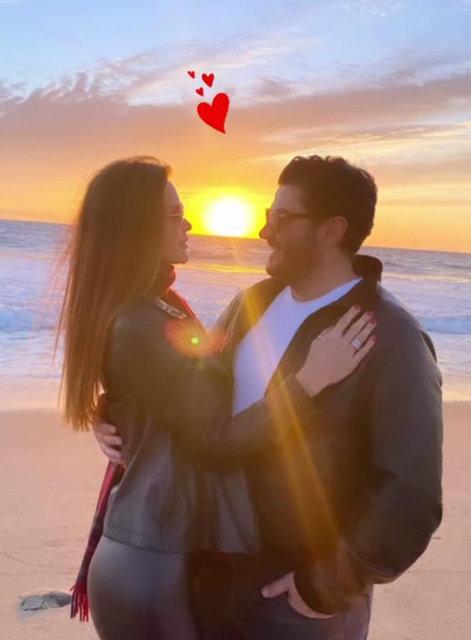 Ebru Şallı ile eşi Uğur Akkuş, Malibu'da - Magazin haberleri