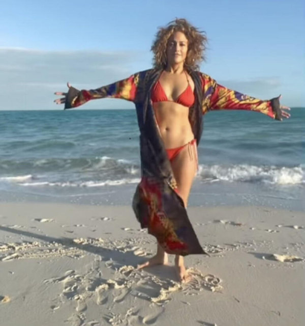 Jennifer Lopez'in sabah motivasyonu - Magazin haberleri