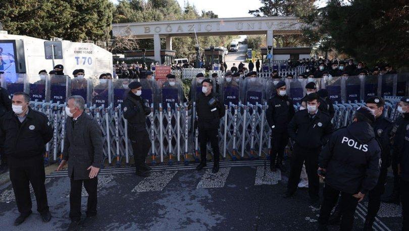BOĞAZİÇİ EYLEMLERİ | Son dakika: Beşiktaş ve Sarıyer'de yasak