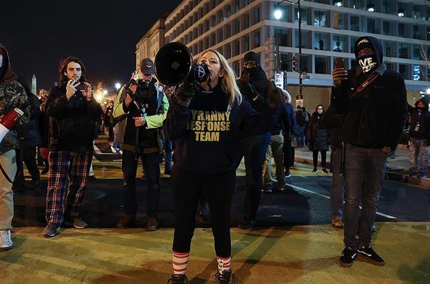 Trump destekçileri seçim protestosu için Washington'da toplandı!