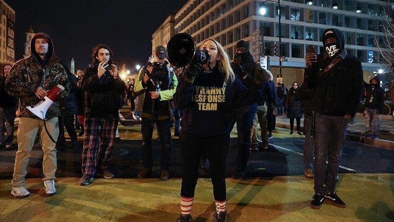İSYAN! Son dakika: Trump yanlıları sokaklara döküldü