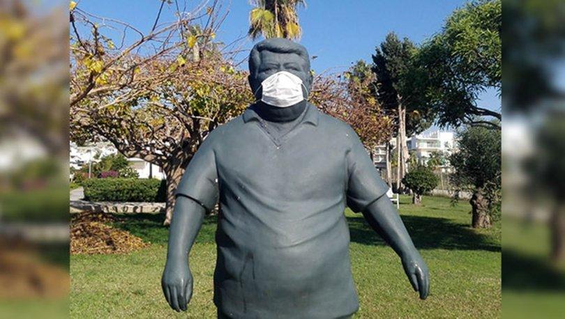 Anavatan Partisi'nden Özal'ın heykeline maske takılmasına tepki