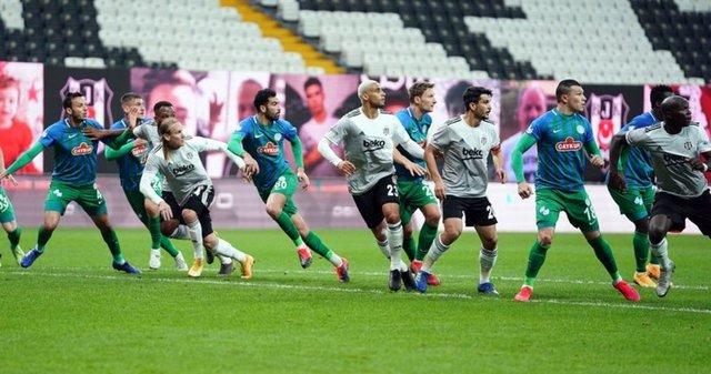 Beşiktaş - Çaykur Rizespor maçı yazar yorumları