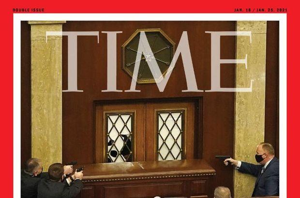 Time'dan çarpıcı kapak: Demokrasi saldırı altında!