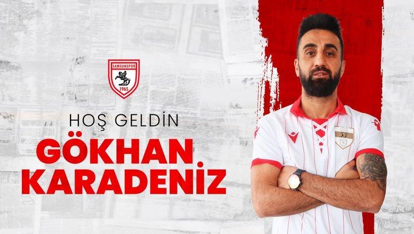 Hatayspor'dan ayrılan Gökhan Karadeniz, Samsunspor'a transfer oldu