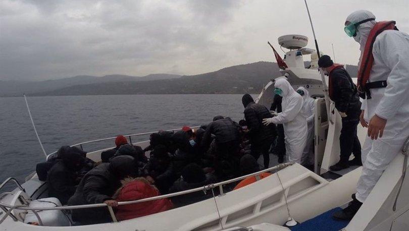 Çanakkale'nin Ayvacık ilçesinde 37 düzensiz göçmen yakalandı
