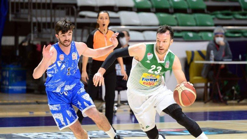 Frutti Extra Bursaspor: 89 - Büyükçekmece Basketbol: 81 MAÇ SONUCU