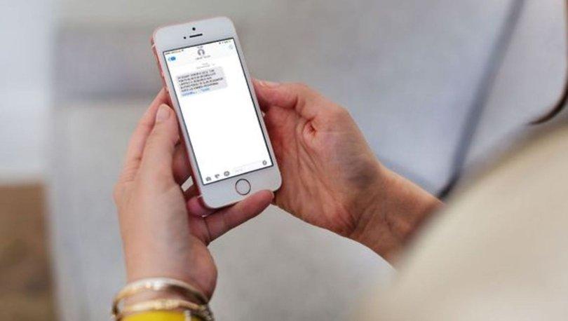 DİKKAT! Son dakika uyarı: SMS atmadan önce düşünün!