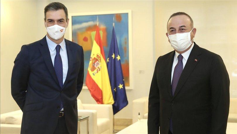 Çavuşoğlu, İspanyol mevkidaşıyla görüştü - Haberler