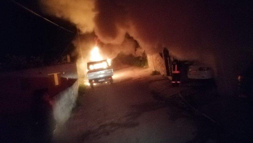 VANDALLIK! Ev bastı, kurşun yağdırdı, her yeri ateşe verdi!