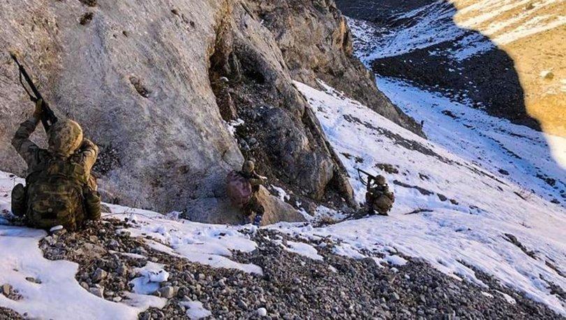 Erzincan'da, teröristlerin kullandığı 8 mağara imha edildi