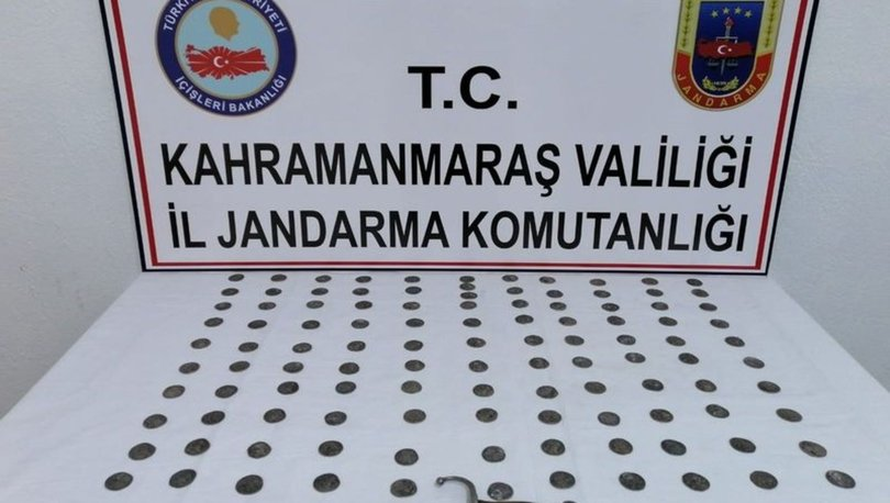 Kahramanmaraş'ta tarihi eser kaçakçılığına 3 gözaltı