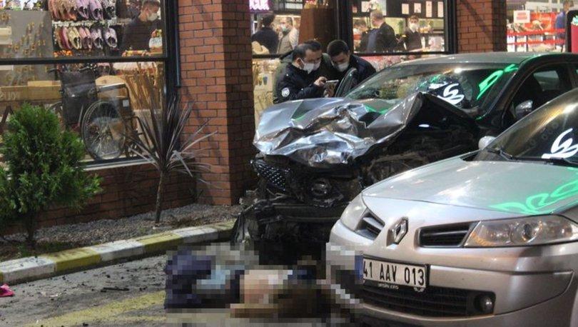 CİP DİNLENME TESİSİNE DALDI! | Son dakika: Cip önüne geleni ezdi: 1 ölü 8 yaralı