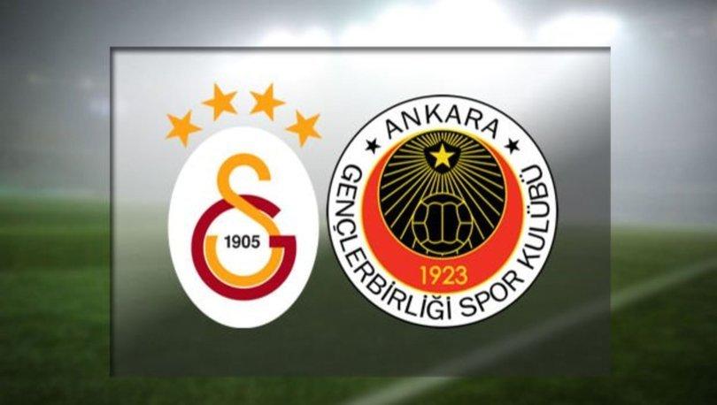 Galatasaray Gençlerbirliği maçı ne zaman, saat kaçta, hangi kanalda canlı yayınlanacak? GS maçı ilk 11