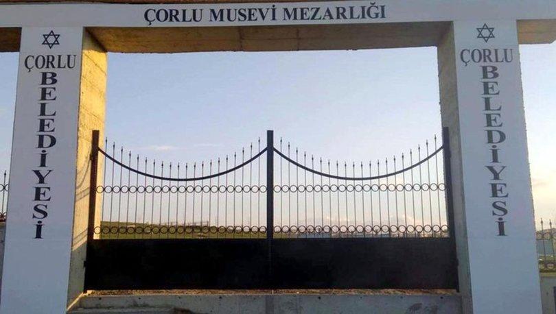 Tarihi Musevi Mezarlığı'nın kapısı 2'nci kez çalındı - haberler