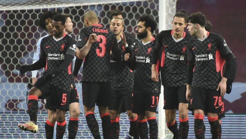 Liverpool, Aston Villa'nın gençlerini eledi