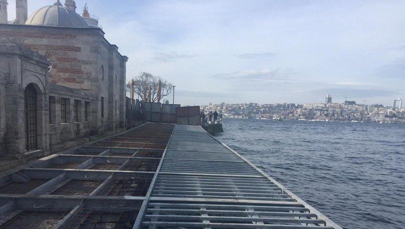 SON DAKİKA | 441 yıllık Şemsi Paşa'ya portatif yol
