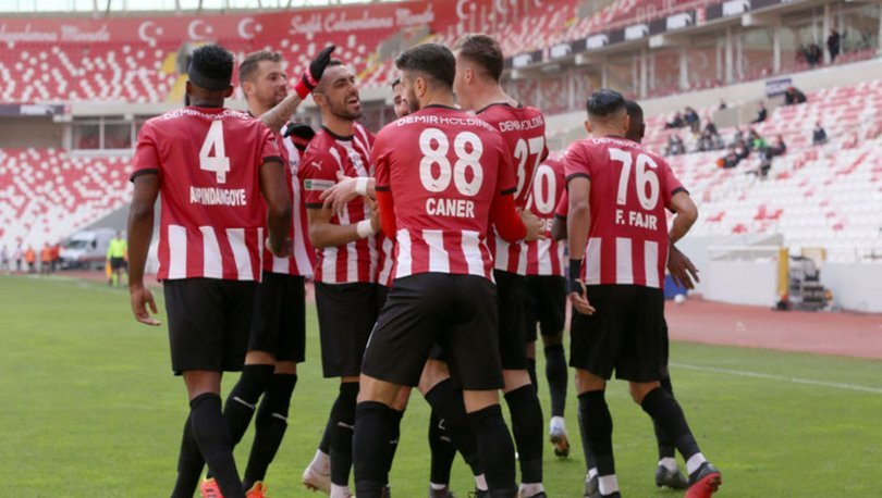 Sivasspor: 2 - Gaziantep FK: 1 MAÇ SONUCU