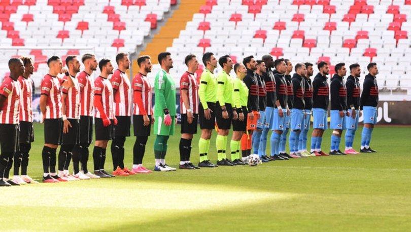 Gaziantep FK'ye Sivasspor freni