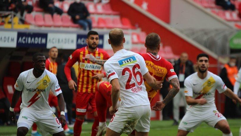 Kayserispor: 1 - Yeni Malatyaspor: 0 (MAÇ SONUCU)