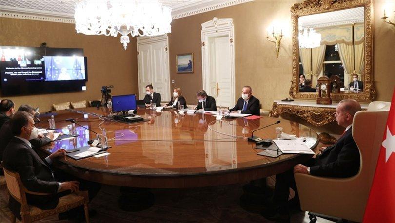 Son dakika... Cumhurbaşkanı Erdoğan, AB Komisyonu Başkanı Leyen ile görüştü