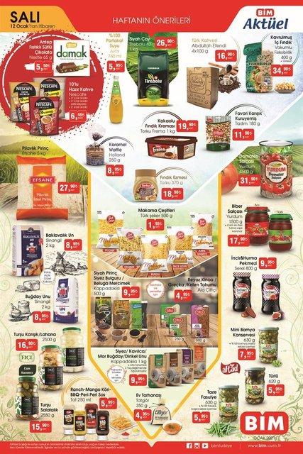 BİM 12-13 Ocak 2021 Aktüel ürünler kataloğu! BİM indirimli ürünler listesinde bu hafta ne var? İşte bim fırsat kataloğu