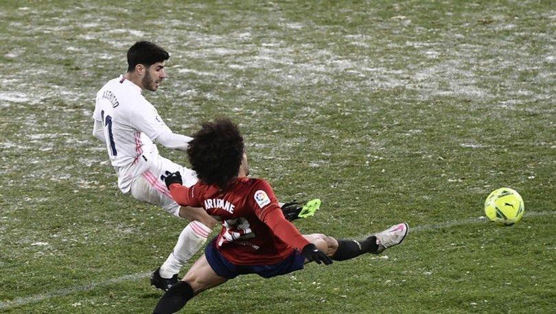 Real Madrid, Osasuna'ya takıldı