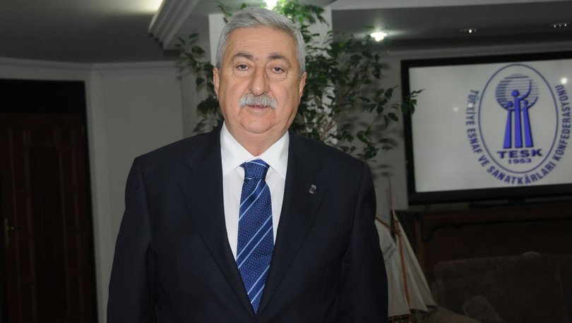 TESK Başkanı Palandöken, yerli ürünlerin dizi ve filmlerde tanıtılmasını önerdi