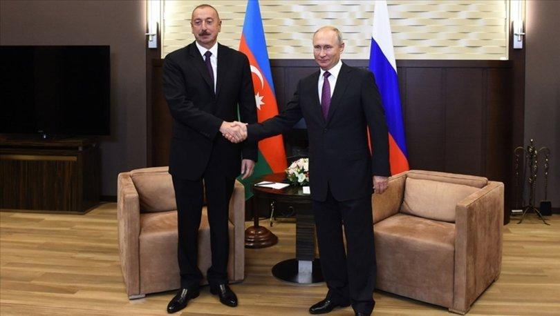 SON DAKİKA: Rusya Devlet Başkanı Putin, Aliyev ve Paşinyan ile Dağlık Karabağ'ı görüşecek!