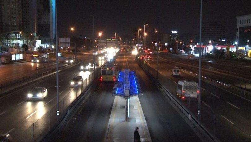 BİTTİ | Son dakika: 56 saatlik hafta sonu sokağa çıkma kısıtlaması sona erdi