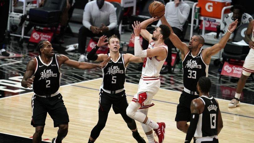 NBA'de Clippers, Bulls'u mağlup etti