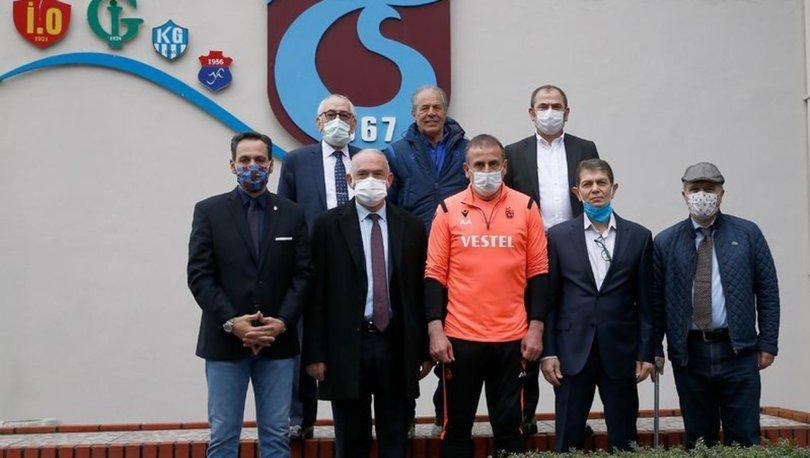 Trabzonspor'da kurul başkanları, Abdullah Avcı'yı ziyaret etti