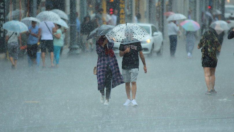 Meteoroloji'den son dakika hava durumu açıklaması! Yağmur geliyor!