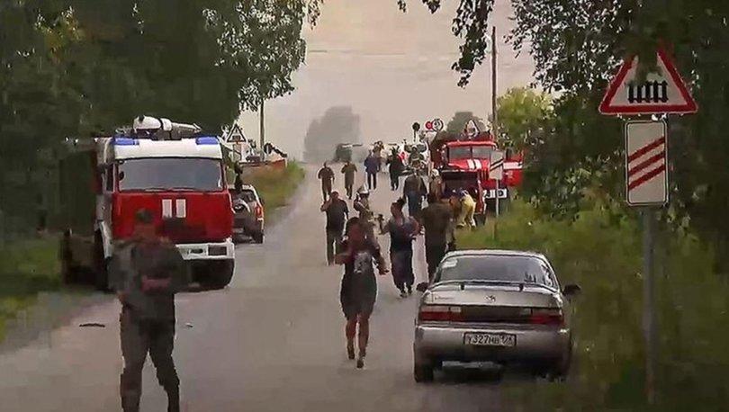 Rusya'da kamyon askeri otobüslerin arasına girdi: 4 ölü, 45 yaralı