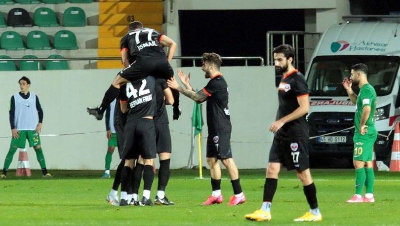 Akhisarspor: 0 - Adanaspor: 1   MAÇ SONUCU