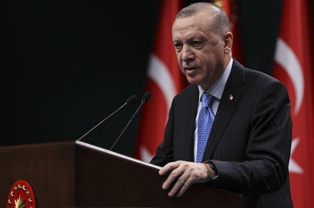Cumhurbaşkanı Erdoğan'dan ilk aşı uygulama tarihi