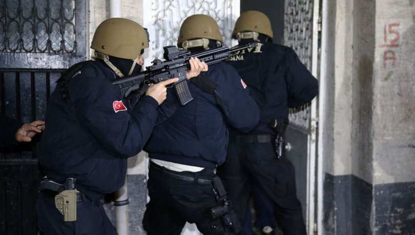 Adana'da DEAŞ operasyonu ile ilgili görsel sonucu