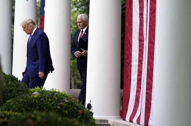 Trump ve Pence'ten Kongre baskını sonrası ilk buluşma