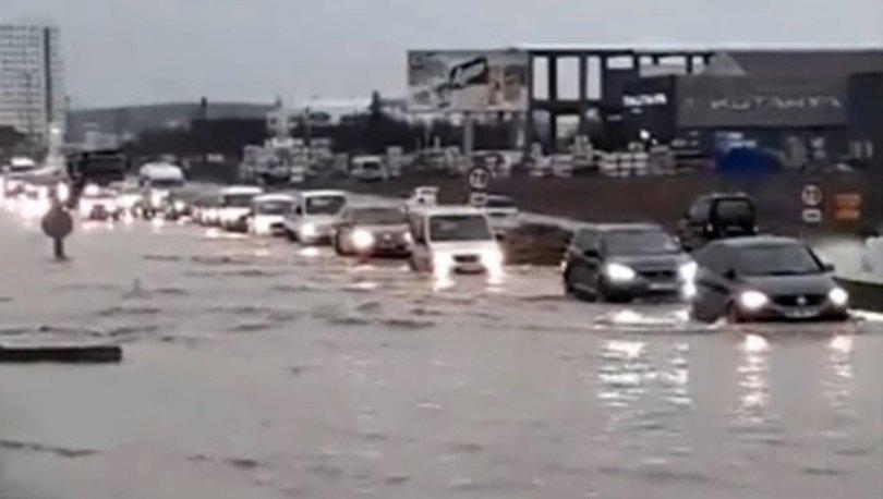 Son dakika: Edirne'de taşkın nedeniyle yollar kapandı! - Haberler