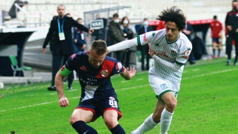Bursaspor: 0 - Antalyaspor: 3 MAÇ SONUCU
