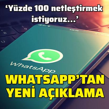 SON DAKİKA: WhatsApp'tan flaş gizlilik açıklaması!