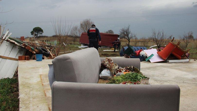 Son dakika FECİ olay: Fırtına konteyner evi uçurdu: 2 yaralı! - Haberler