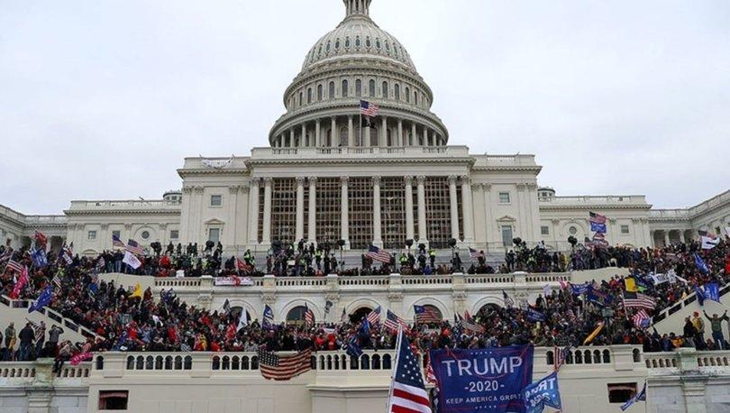 ABD'de Kongre binası baskını sonrası temsilciler Kovid-19'a yakalandı