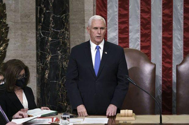 Pence: Trump'ın azli için adım atmayacağım